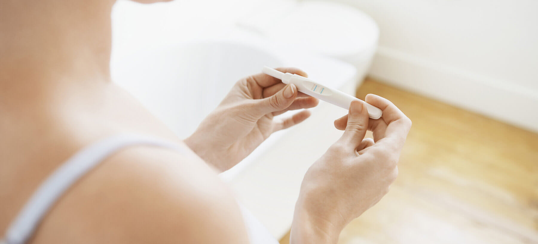 Am I Pregnant? Tips on using a pregnancy test kit
