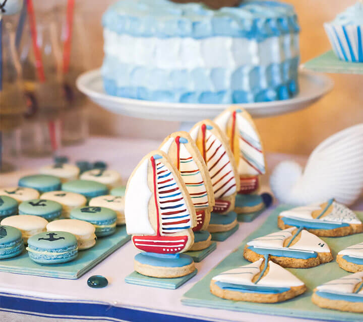 Ahoy Baby Shower Theme Ideas
