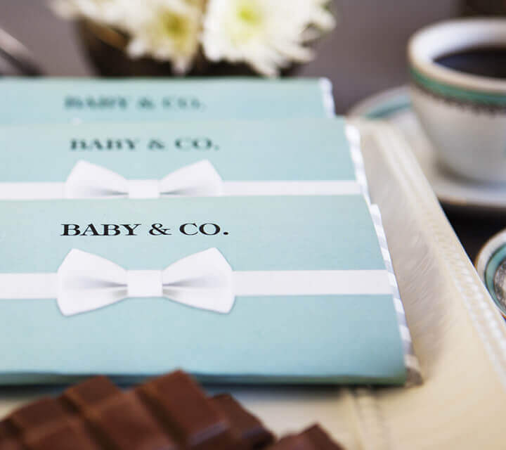 Baby Shower Favours - Themed chocolates