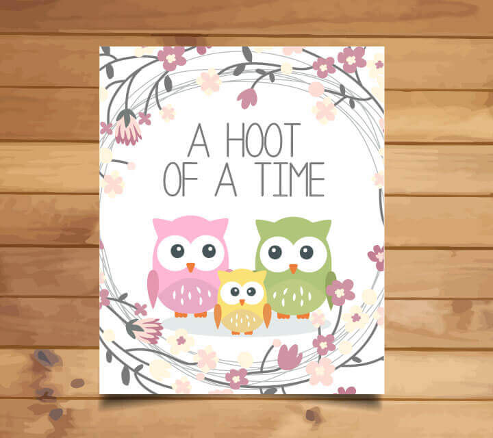 Baby Shower Themes - A Hoot of a Time