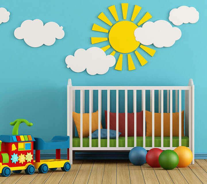 Baby Shower gift ideas - Nursery art