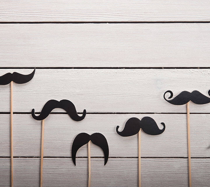 Baby Shower Themes - Moustache Madness