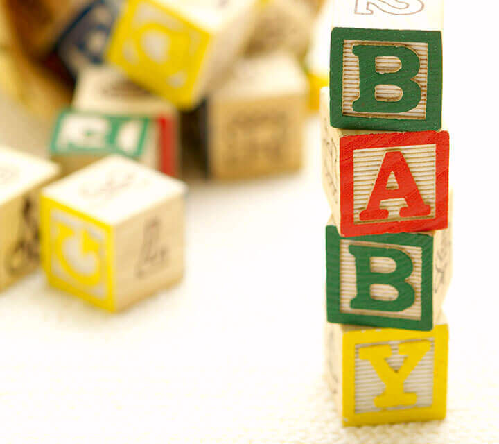 Baby Shower Decorations - Spell it Out Baby!