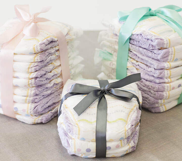 Baby Shower gift ideas - Never enough nappies!