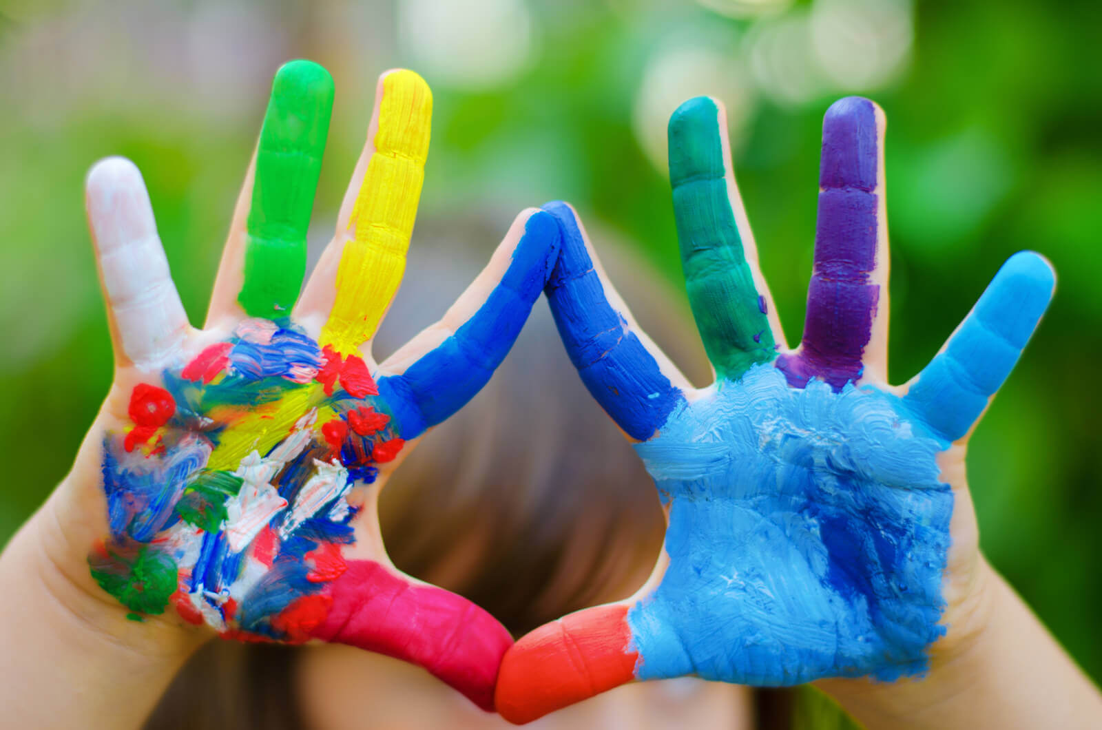 Painting with Toddlers - Kid Activities