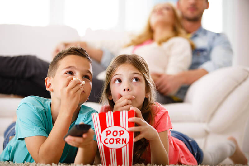 Movie night with mum and dad - Toddler Activities