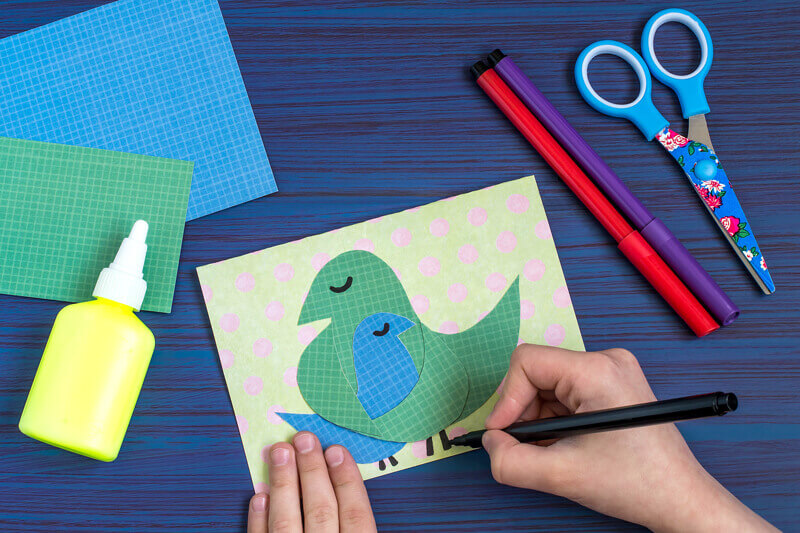 Card making idea - Toddler Activities