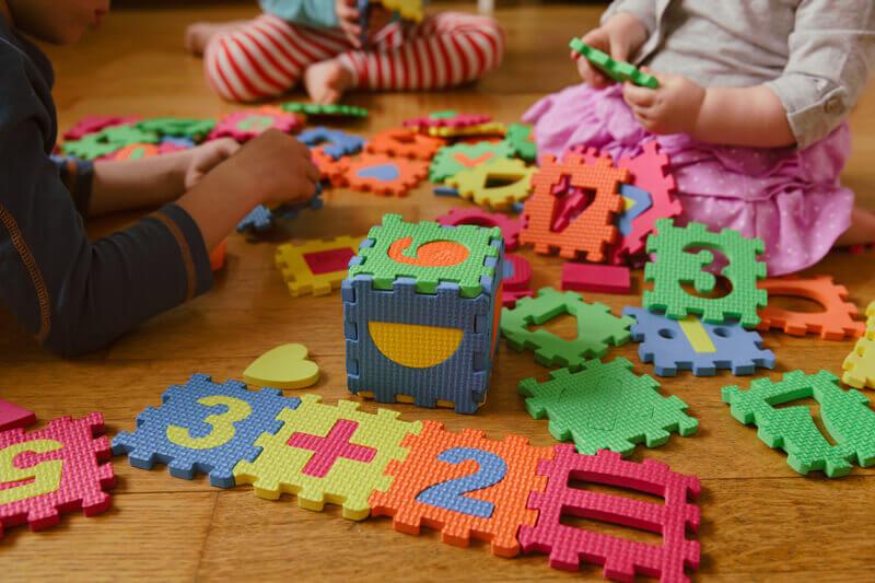 Toddler creative thinking